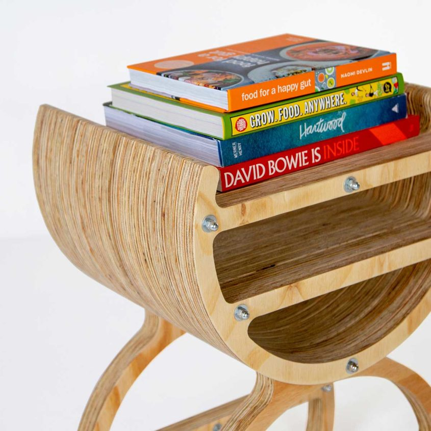 Fulford Wood, Custom designed plywood furniture, Bedside table