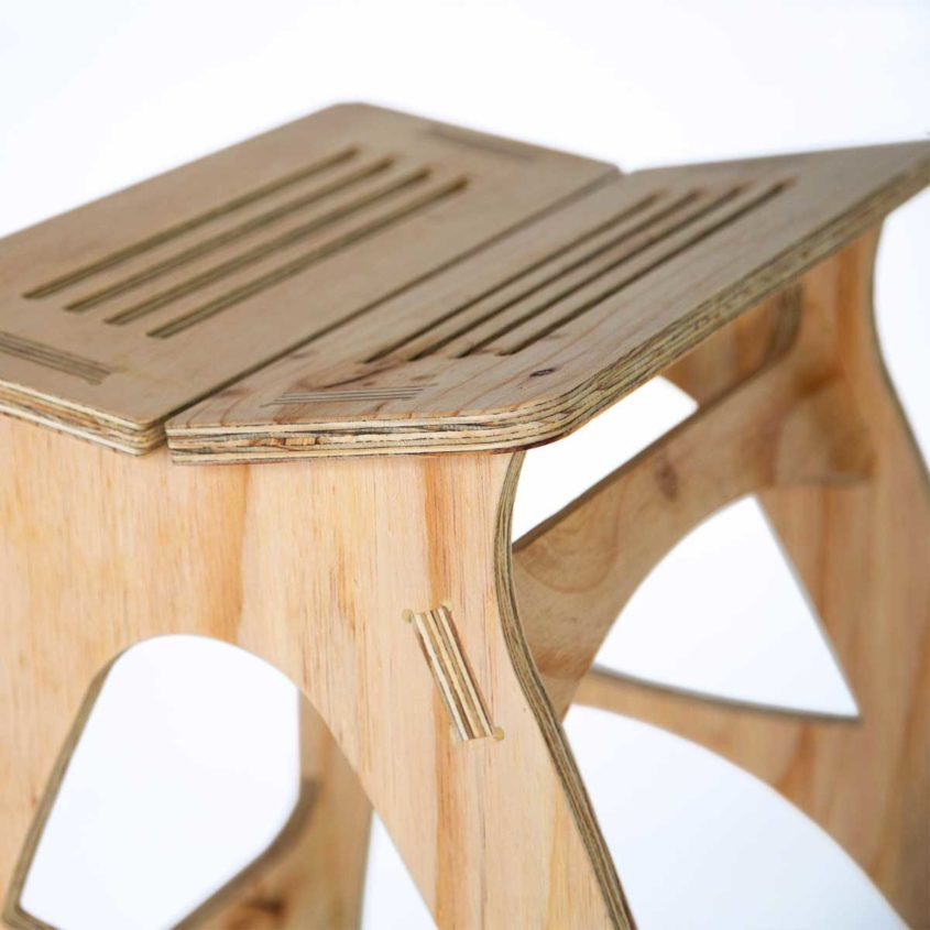 Fulford Wood, Shop for Australian Made Timber Furniture, Plywood Stool