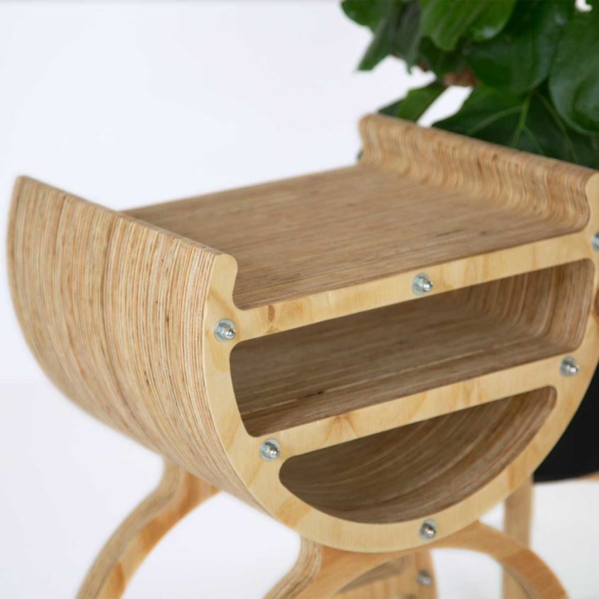 Crest Side Table, Fulford Wood, Buy online