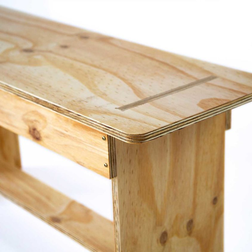 Wooden Bench Seat, Fulford Wood, Buy online