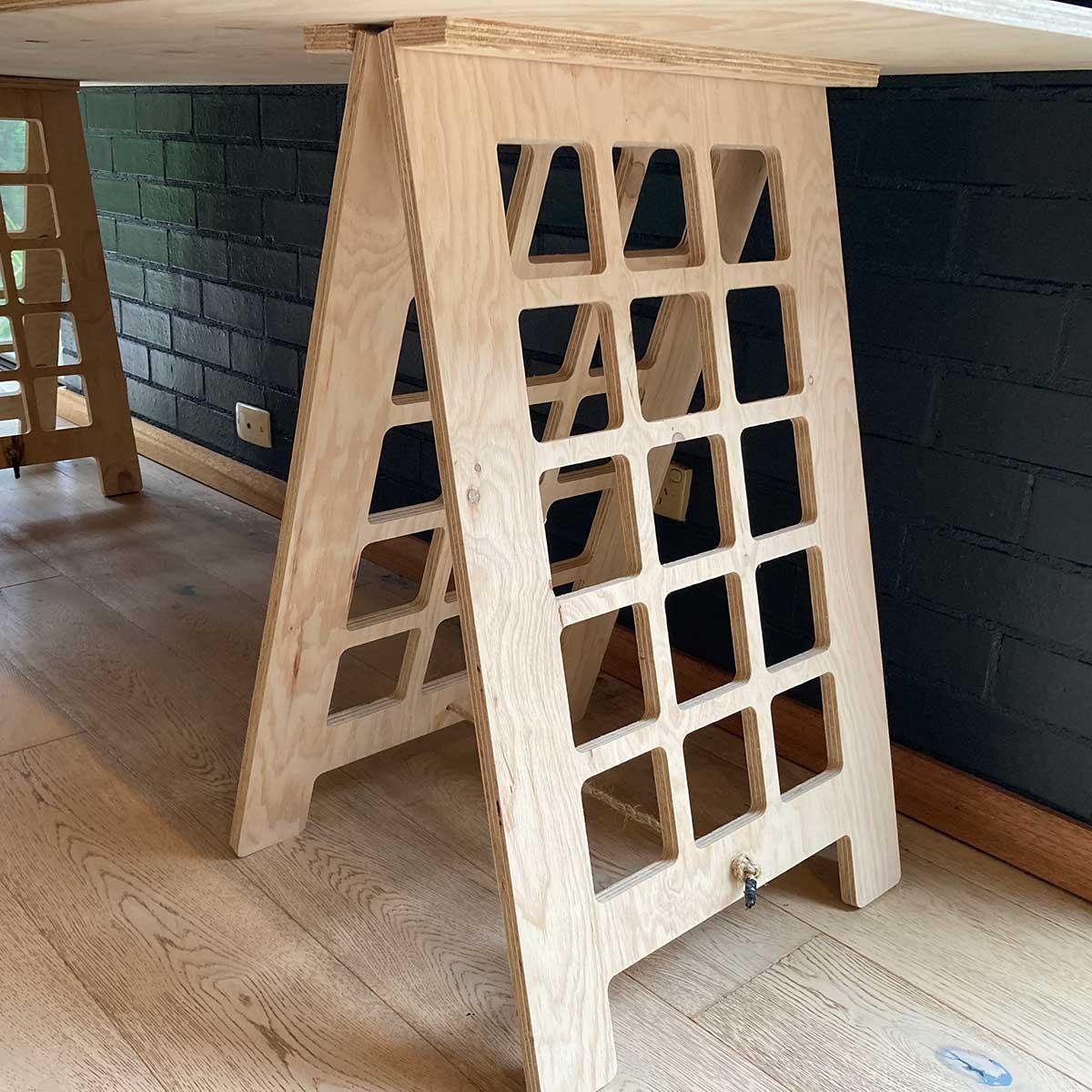 Fulford Wood, Custom Woodwork, Trestle Tables